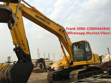 Cina Transmisi Manual Excavator Komatsu Second Hand 125 Kw 168 Hp Tenaga Mesin Distributor